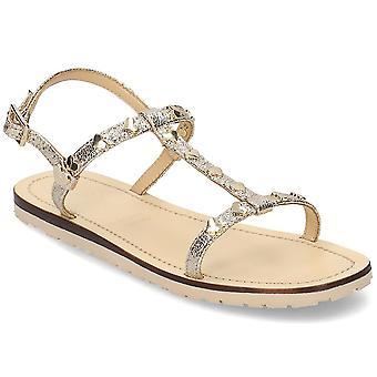 Kjærlighet Moschino Golden Heart JA16411G07JG0900 universell sommer kvinner sko