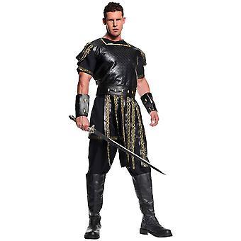 Dappere Romeinse krijger volwassen kostuum