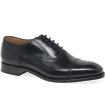 Loake 201 b Mens formelle Semi Brogue chaussures
