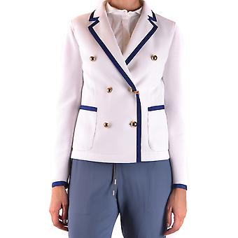 Fay Ezbc035053 Women's White Cotton Blazer