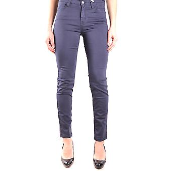 Jeckerson Ezbc069027 Women's Blue Cotton Jeans