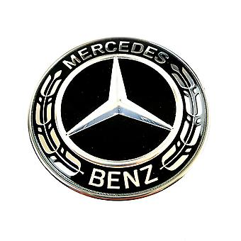 Mercedes-Benz Bonnet emblem svart 57mm