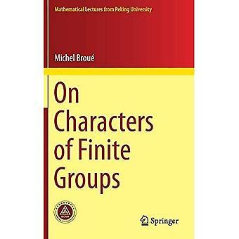 På tegnene i begrensede grupper (matematiske forelesninger fra Pekinguniversitetet)
