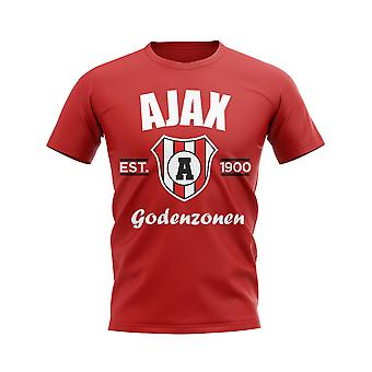 Ajax stabilito calcio t-shirt (Red)