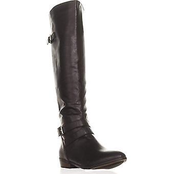 Material Girl Womens Carleigh fechado Toe por joelho moda botas