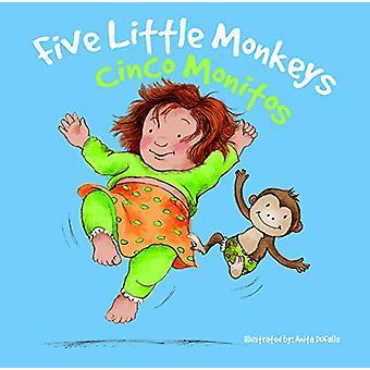 Cinco Monitos / Five Little Monkeys by Rhea Wallace - 9781683420156 B