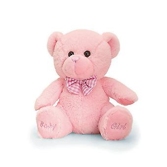 Keel Toys Baby Girl Teddy Bear Plush Toy