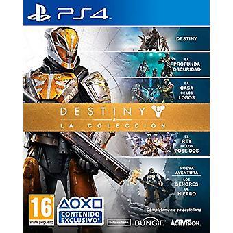 Destiny The Collection PS4 (Spanish Box-EFIGS) DLC vanhentunut Harkitse standardia