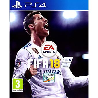 FIFA 18 PS4 spel (Engels/Arabisch box)