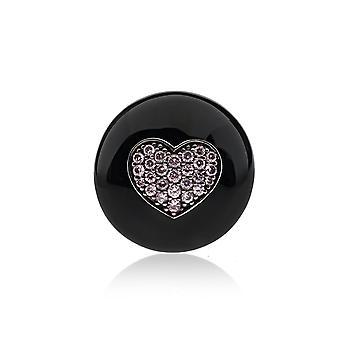 Belle Etoile Black Kiss Pendant 02020810601