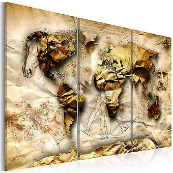 Canvas Print - Anatomy of the World