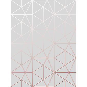 Metro Prism Geometric Triangle Wallpaper