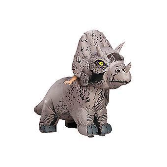 Traje inflável de Triceratops