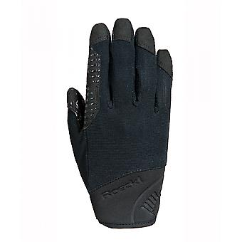 Roeckl Milas Adults Horse Riding Gloves - Black