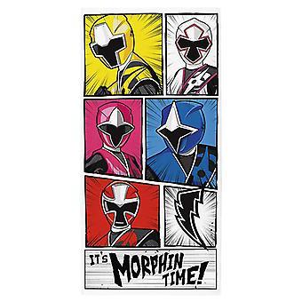 Power Rangers Morphin tid handduk