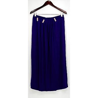 Linea by Louis Dell'Olio Skirt Pleated Front Purple A298599
