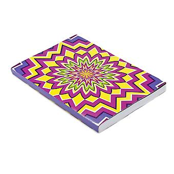 Daycraft Illusions A4 & A5 Lined Notebook, 176 Pages, Various Colours
