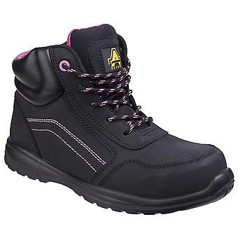 Amblers Safety Womens AS601 Lydia segurança Composite boot com side zip
