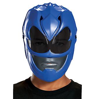 Blå Ranger Power Rangers film Superhero pojkar kostym Vacuform Mask