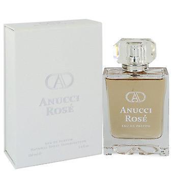 Anucci rose eau de parfum spray by anucci 547051 100 ml