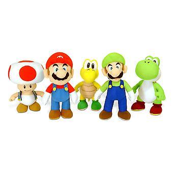 Super Mario 20 cm plysj (ett medfølger)