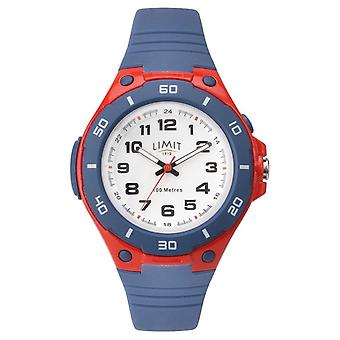 Orologio Limit Kids Red & Blue Numbered Dial 5699.71