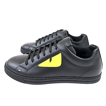 Fendi bug Eye sneaker Nero/gul