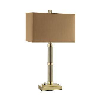 Brass noah table lamp stein world