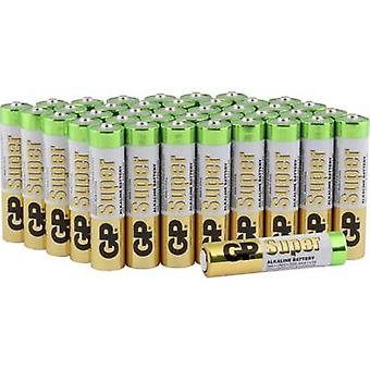 AAA battery Alkali-manganese GP Batteries Super 1.5 V 40 pc(s)