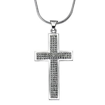 Crystelle 340270001 Silver Silver Women's Collier Sterling 925 42 th 5 cm 500250465