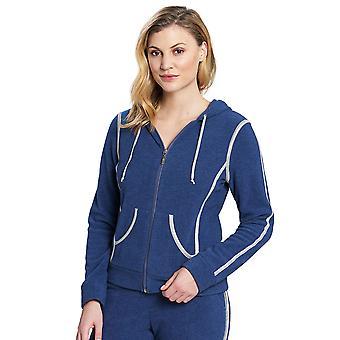 Feraud 3191120-10060 Women's Casual Chic Jeans Blue Loungewear Jacket