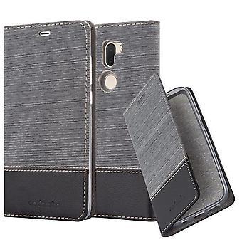 Cadorabo-fodral för Xiaomi Mi 5S PLUS-fodral - telefonfodral med magnetiskt lås, ståfunktion och kortfack – Case Cover Protective Case Book Folding Style