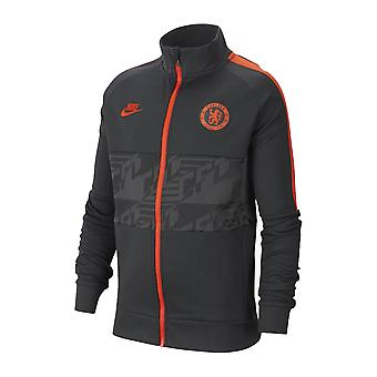 2019-2020 Chelsea Nike I96 Jacket (Anthracite) - Kids