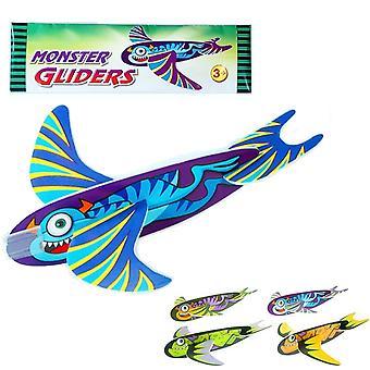 Single Monster Foam Glider Kids Party Bag Favour Filler