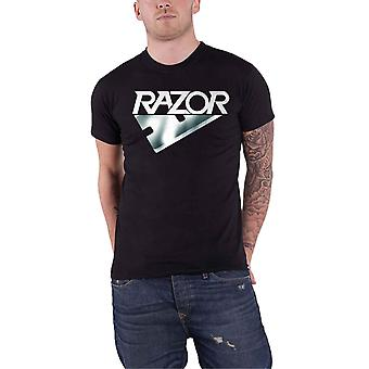 Razor T Shirt Band Logo new Official Mens Black