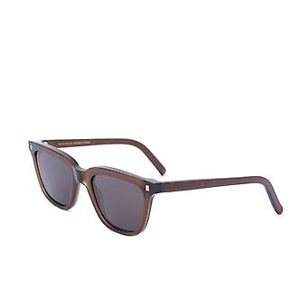 Monokel Eyewear Robotnik Cola Brown Grey Lens Sunglasses