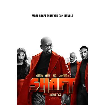 Shaft (2019) Original Movie Poster Double Sided Advance Style