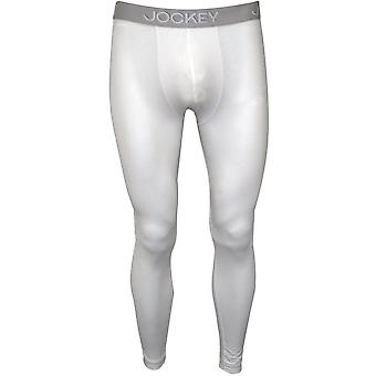 Jockey Cotton Modal Stretch Long Johns, Bianco