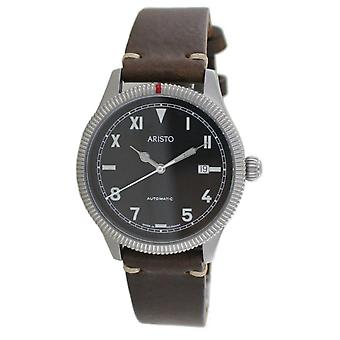 Aristo herenhorloge Automatic California 3H193 leer