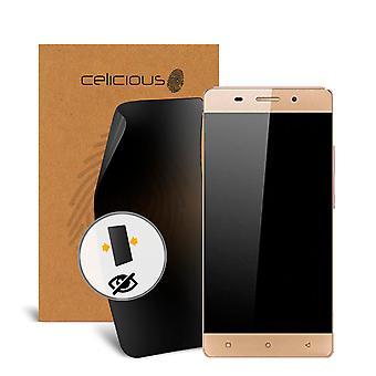 Celicious Privacy 2-Way Anti-Spy Filter Screen Protector Film Compatible with Gionee P7 Max