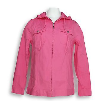 Denim & co. kvinner ' s langermet windbreaker rosa A224054