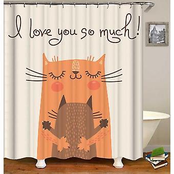 Katte hug Shower gardin