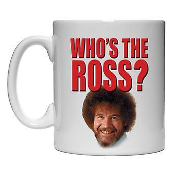 Mug - Bob Ross - Who's the Ross 15oz Coffee Cup New cmg15-ross-wtr