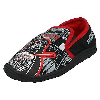 Boys Disney Star Wars Slippers GSS02 327