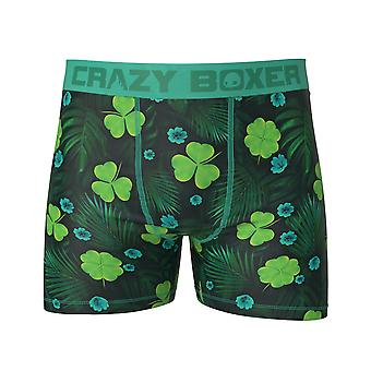 St. Patrick's Day Shamrocks Boxer Briefs