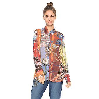 Desigual Women's Tutti Frutti Horse Safira Shirt