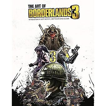 The Art of Borderlands 3 by Allcock & Chris