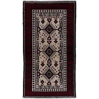 Käsin knotd Persian matto Beluch 99x180cm