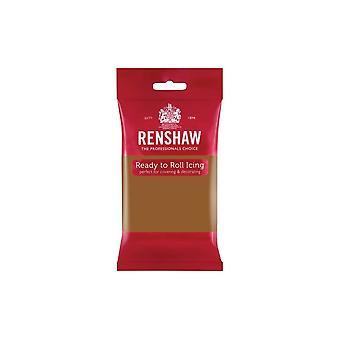 Renshaw Teddy Bear Brown 250g Ready To Roll Fondant Icing Sugarpaste