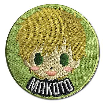 Patch - Free! - New SD Makoto Iron-On Anime Licensed ge44168